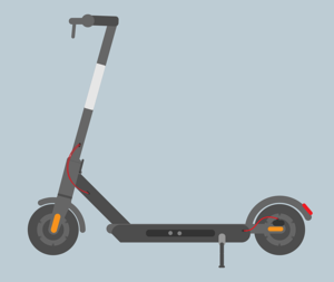 trottinette-éléctrique-moderne-electric-scooter